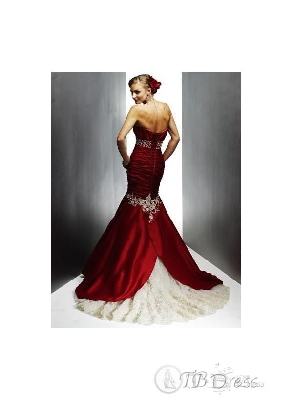 Jaws will drop with this dress!: Ideas, Wedding Dressses, Style, Color, Weddings, Gowns, Mermaids, Prom Dress, Red Wedding Dresses