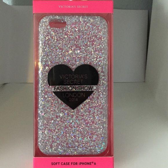 New Victoria Secret 2014 show iPhone 6 case New  Victoria Secret 2014 Fashion show glitter gummy iPhone 6 case. Victoria's Secret Accessories Phone Cases