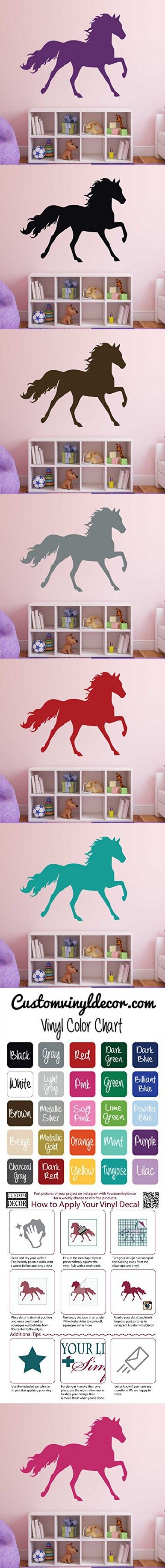 Best 25 horse wall decals ideas on pinterest horse wall art best 25 horse wall decals ideas on pinterest horse wall art horse rooms and girls horse rooms amipublicfo Image collections