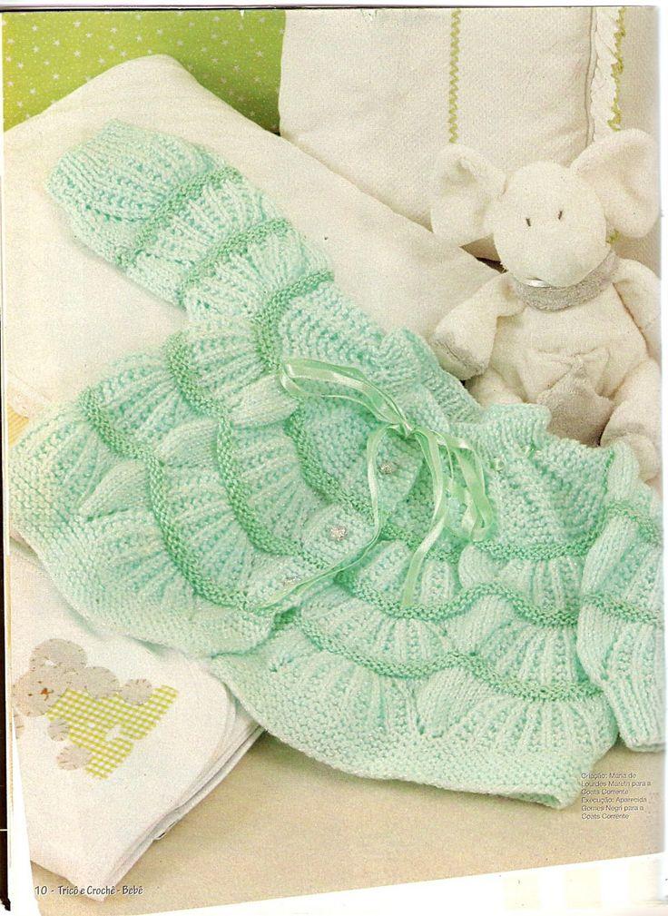 Moda Bebê : Casaquinhos