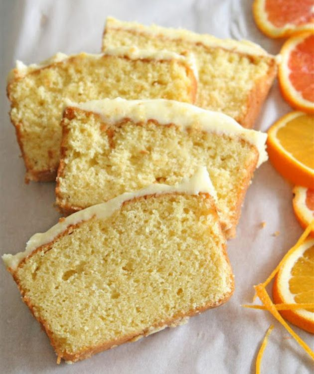 Torta de yogurt y naranja