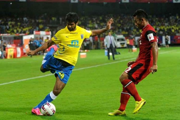 Indian Super League : Kerala Blasters FC Thrash NorthEast United FC 3-1