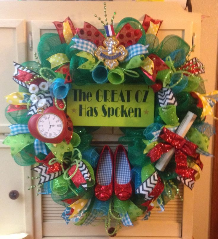 Wizard of Oz Wreath for my classroom