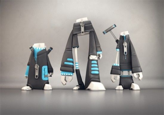 Curling Players by Fabrice Le Nezet