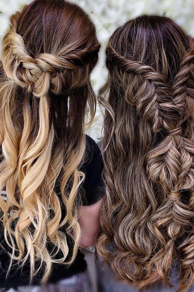 48 Perfect Bridesmaid Hairstyles Ideas Wedding Forward Hair Styles Unique Braided Hairstyles Braided Hairstyles
