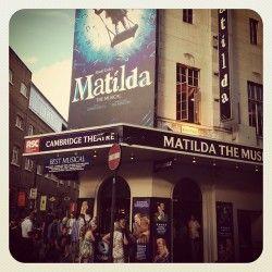 #matilda #matildathemusical #london #westend #amazing #blue #theatre #musicalfavourite #swing #busy #people