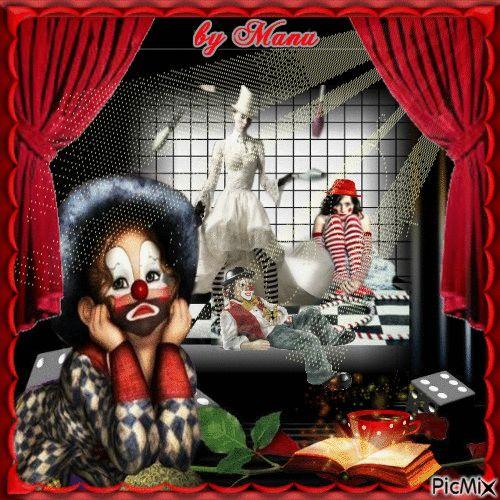 palcoscenico di un vecchio circo