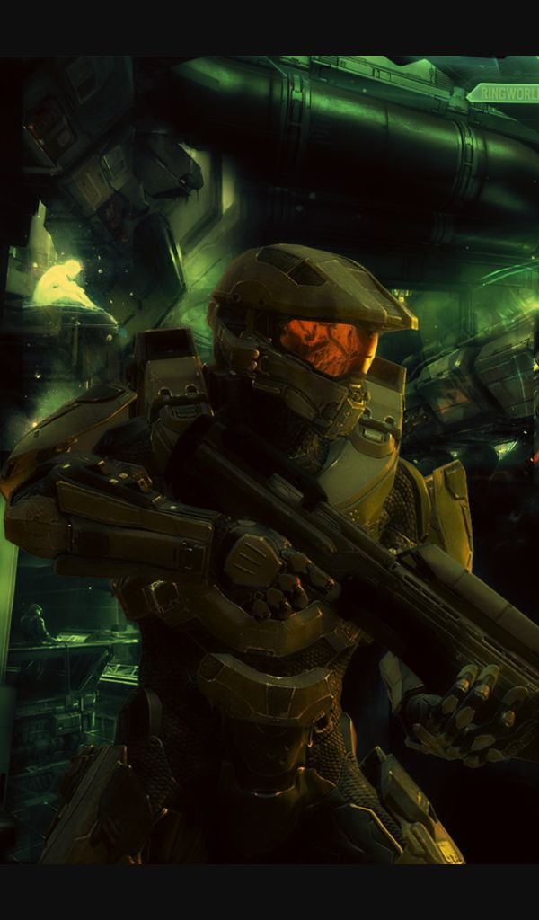 Master chief phone wallpaper xbox pinterest master - Master chief in halo reach ...
