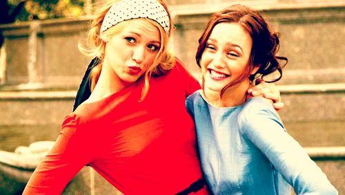 Serena and Blair. la la loveee Gossip Girl<3