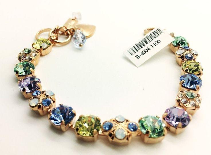 Mariana Jewelry Bracelet  woman Bangle Charm Swarovski Crystal Fashion  #Mariana #Bangle