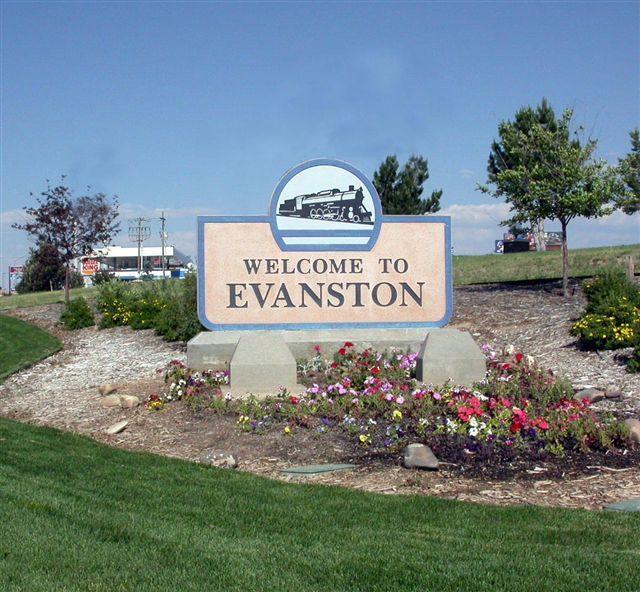 Evanston, WY : Main Street Evanston, Wyoming photo, picture, image ...