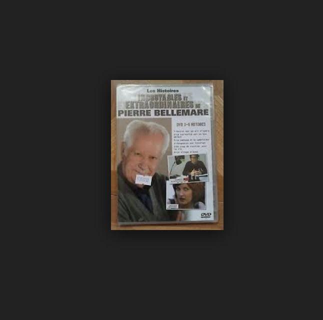 DERNIER EXEMPALIRE !!! Pierre Bellemare - DVD 2 - 6 histoires - DVD