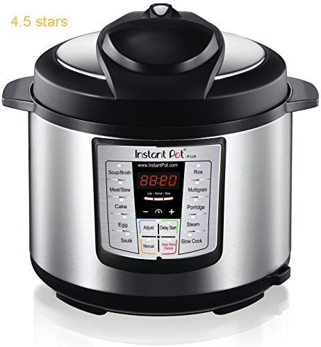 Instant Pot IP LUX60 Programmable Stainless