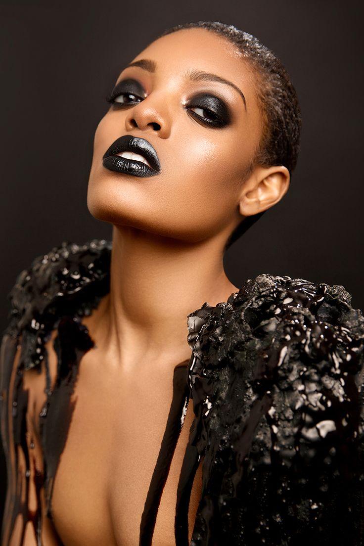 Art Director/Makeup: Charles Zambrano Photographer: Troy Walker Model: Femme du Soir