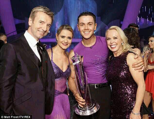 Ray Quinn with his partner and Jayne & Chris