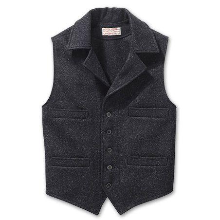 Mackinaw Wool Western Vest
