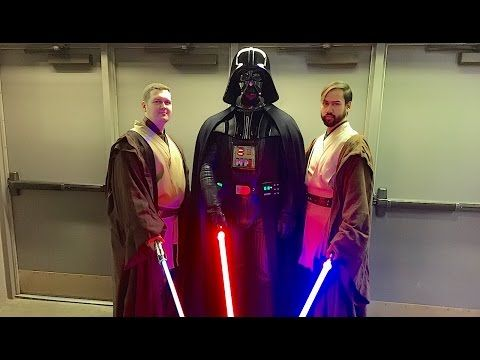 Star Wars Night with the Alaska Aces and the 501st Legion - YouTube
