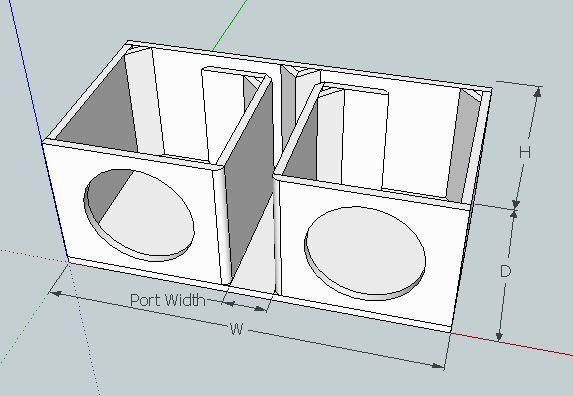 Box Design for 2 P3's? - Rockford Fosgate – Car Audio for Fanatics ...
