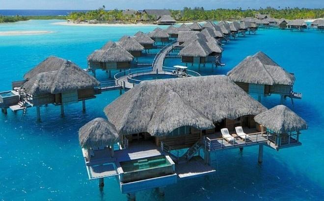 Honeymoon:  Bungalows - Four Seasons, Bora Bora
