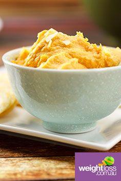 Sweet Potato & Cashew Dip. #HealthyRecipes #DietRecipes #WeightLossRecipes weightloss.com.au