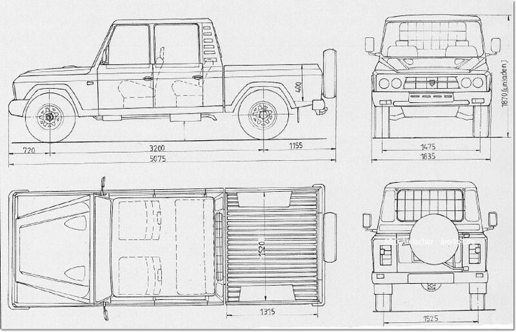 ARO 324 blueprint