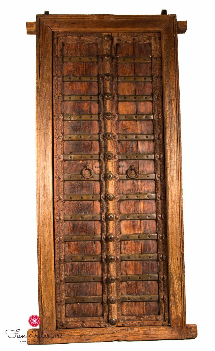 Authentic old doors