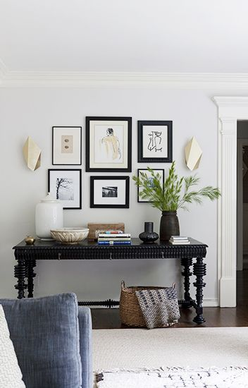 define a gallery with perfectly placed sconces