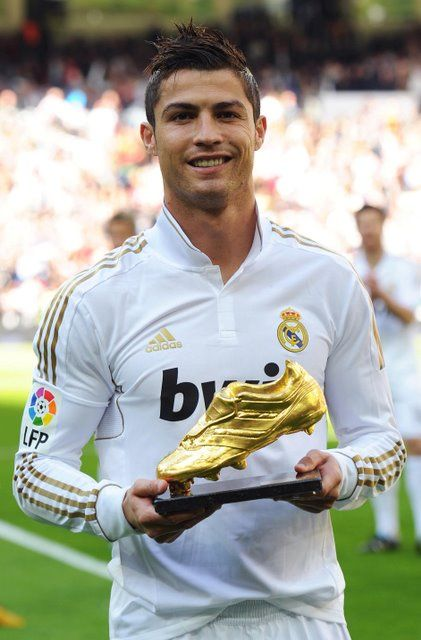 Real Madrid - C. Ronaldo with the Golden Shoe ❤️❤️❤️❤️❤️