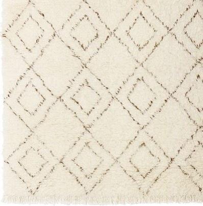 Moroccan Diamond Rug mediterranean rugs