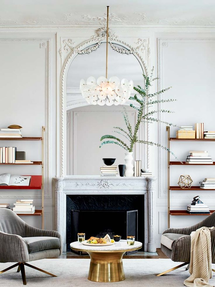 The Trick To Mixing Modern and Traditional