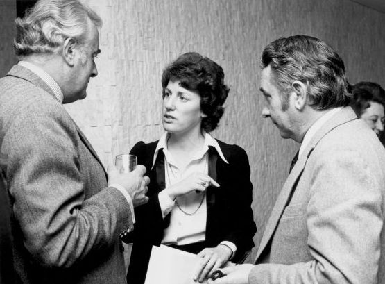 Prime Minister Gough Whitlam listens to Adviser on Women's Affairs, Elizabeth Reid. Championing equal pay for women, Whitlam sought to ensure that workplace pay & conditions for women were in keeping with the principles of social equality & justice that guided his Government's agenda. Whitlam's Government was the  first in the world to appoint a dedicated adviser on Women's affairs to the head of Government, Elizabeth Reid was given the position in April 1973.