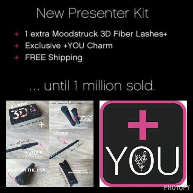 3d Fiber Lash Mascara Plus It's a fantastic time to join Younique! Visit www.FabLashGal.com and click JOIN to register !