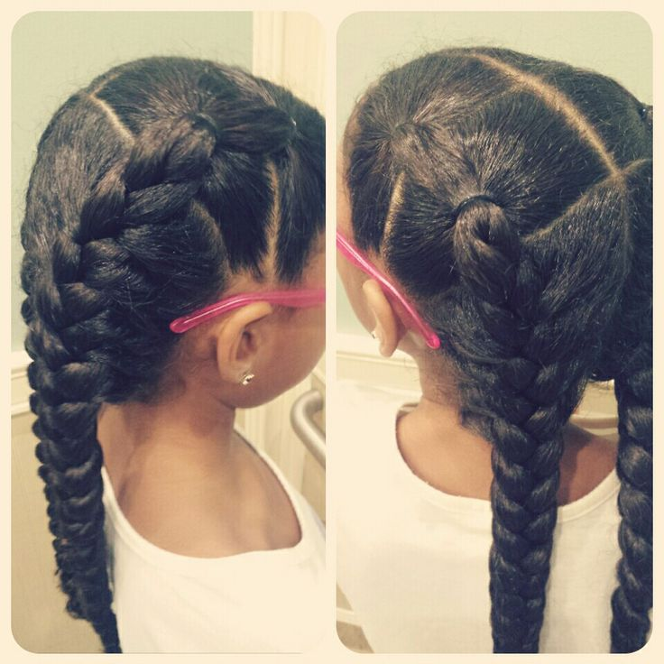 Real Life doll creations! :) little girls hairstyles, curly hair, braids, hairstyles for girls, easy hairstyle, two braids.