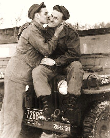 Gay couples have always been there, reclaiming our history (please follow minkshmink on pinterest) #gaycouple #secretlove