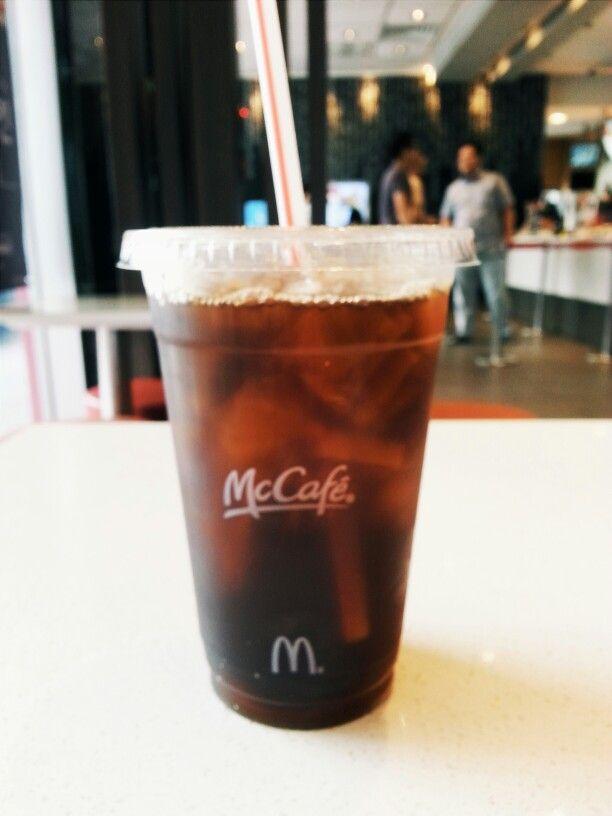 Afternoon Coffee McCafe Korea