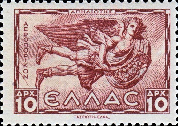 1942+Apeliotes+–+god+of+South+East+wind.ΑΝΕΜΟΙ Α΄ΕΚΔΟΣΗ