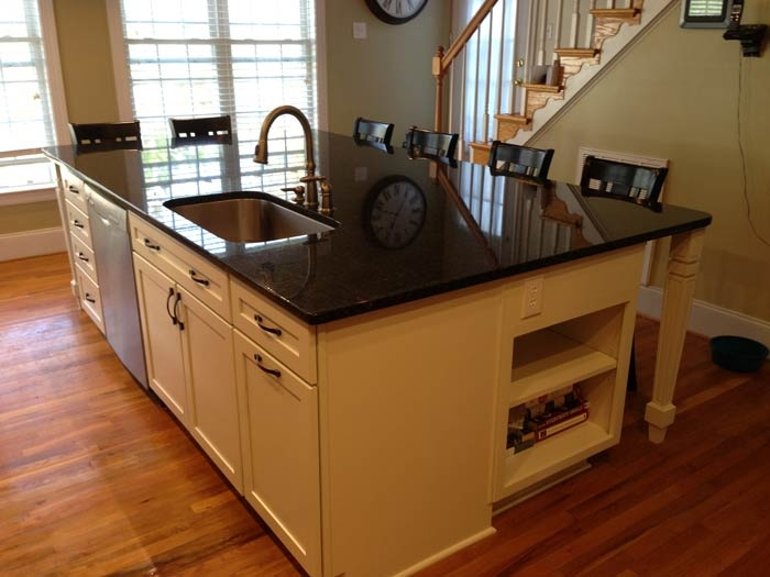Multi functional kitchen island seating food prep - Large kitchen islands with seating and storage ...