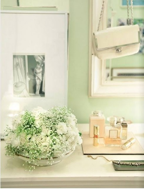 Katie Ermilio S Gorgeous Apartment By Rue Love Love Love The Pale Green Wall Color You Can Get A Similar Hue With Devine Blade