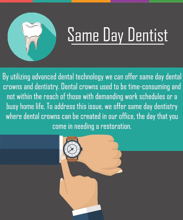 We offer same day dentistry where dental crowns can be created in our office, the day you come in needing a restoration. #SameDayDentist #DentalRestorations #DentalCrown #Dentist