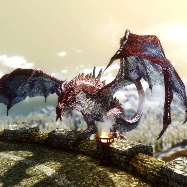 Дракон скайрима картинки