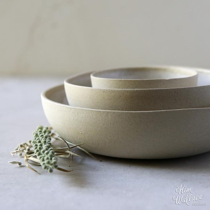 Handmade pebble bowl, made from whit porcelain clay by Australian ceramic artist Kim Wallace. Shop online.