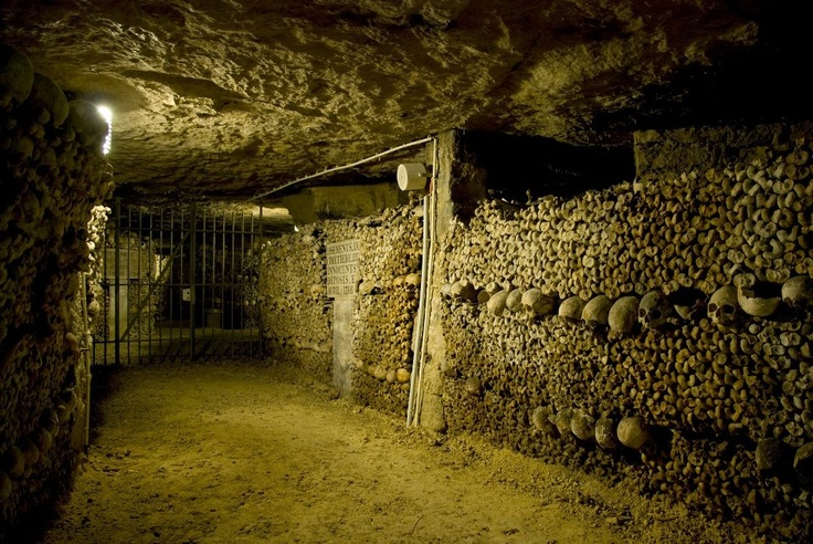 Catacombs Beneath Paris
