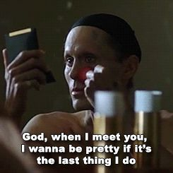 This moment Dallas Buyers Club killed me - such a beautiful role for Jared Leto.