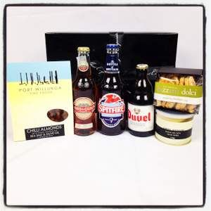 Beer and Father's Day go hand in hand! Treat your Dad to a beer hamper and savoury nibbles that will be a sure pleaser and at $75 it's your gift done!  http://www.justcorporate.net.au/gifts/all-gifts/beer-taster/