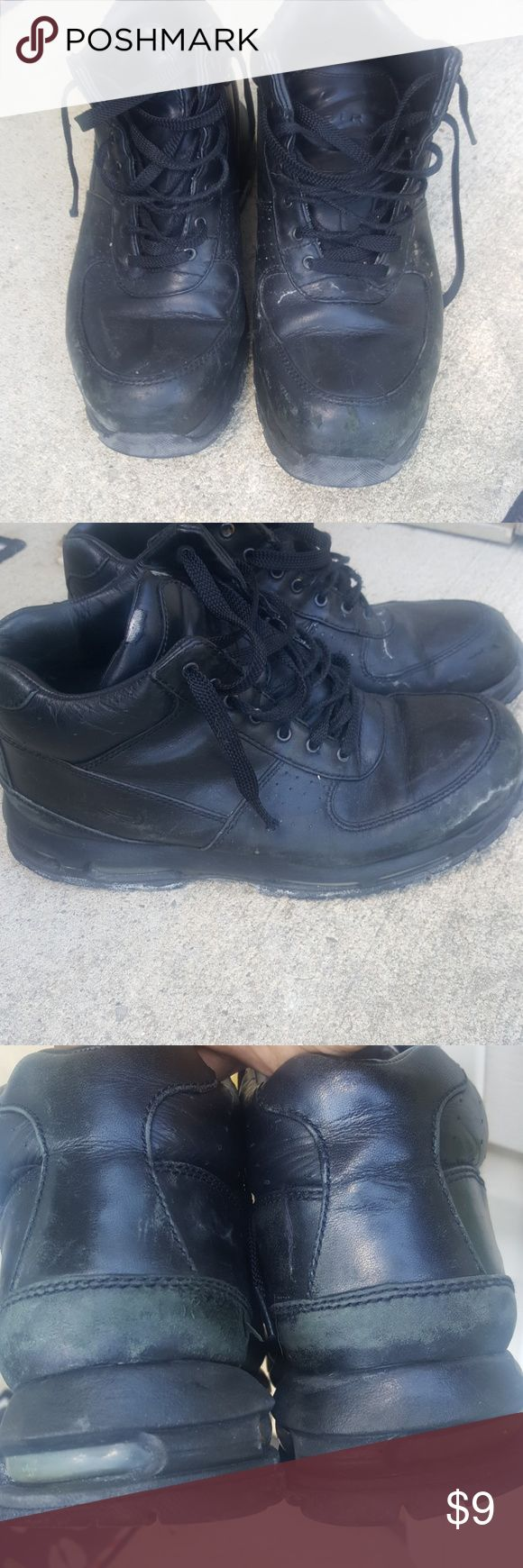 Mens ACG Nike Boots Mens Nike ACG boots. Worn but still durable. Nike Shoes Boots
