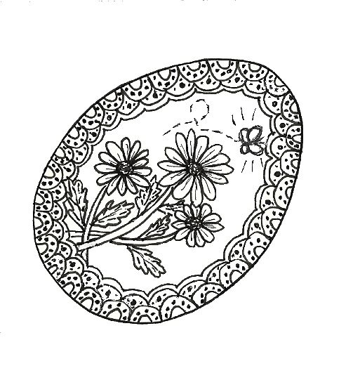 38 Best Images About Zentangle Easter On Pinterest