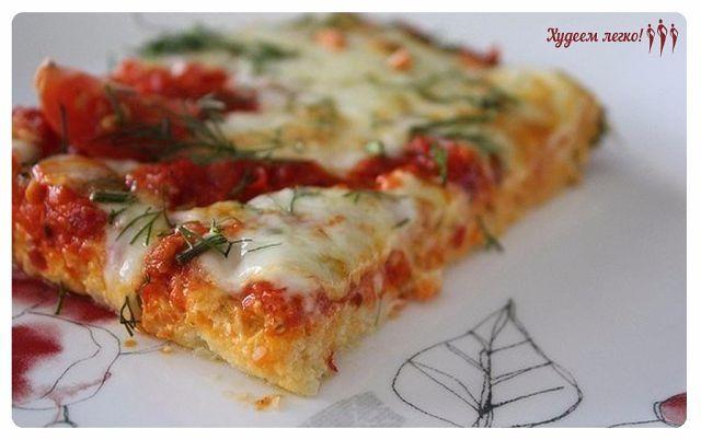 """Крутая штука - """"Низкокалорийная пицца на основе цветной капусты"""""""
