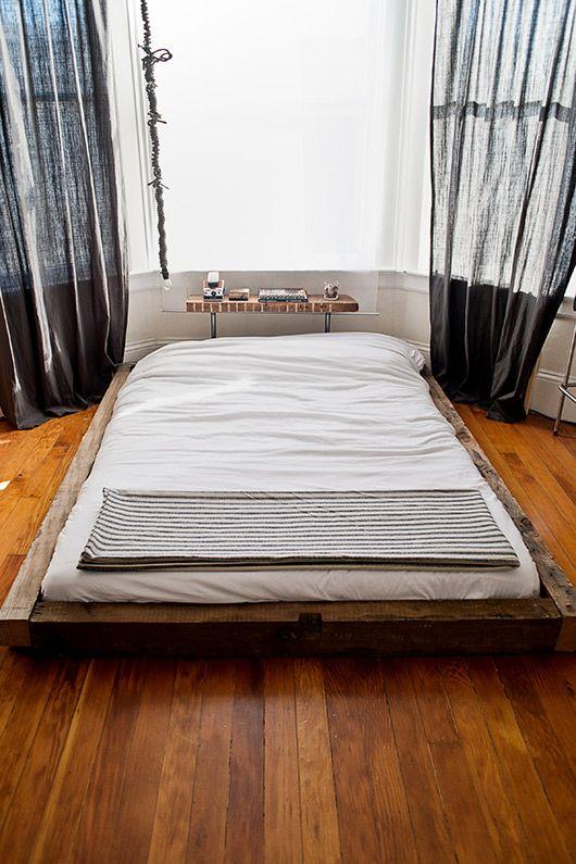 taylor hoff's paltform bed/ sfgirlbybay