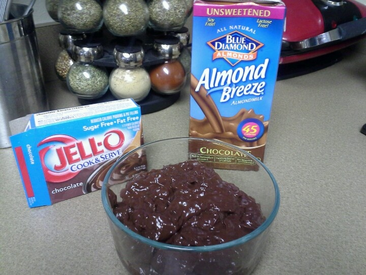 Low Carb Chocolate Pudding Sugar Free Mix Plus