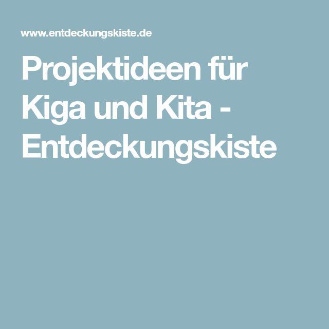 Projektideen für Kiga und Kita - Entdeckungskiste